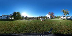 panorama photo of Marlboro campus