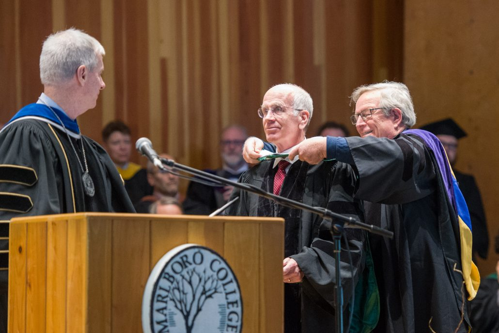 Peter Welch receives honorary degree