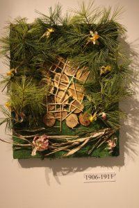 A piece from Izzy Yandell's Plan exhibit.