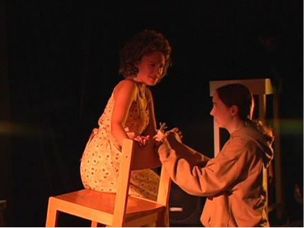 A scene from a play