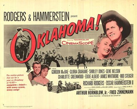 Poster for the Movie version of Oklahoma!